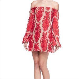 For Love and Lemons off the shoulder dress-Revolve